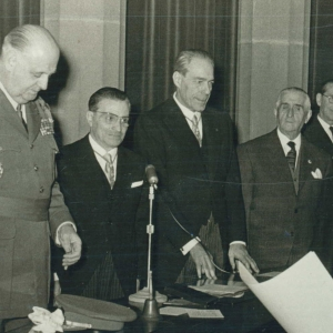 Ingreso del Sr. D. José María Sainz de Vicuña en la RACEF (10/01/1960) - 10/01/1960