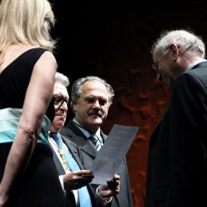 Ingreso del Dr. Daniel Kahneman, Premio Nobel de Economía, en la RACEF (14-06-2012) - 14/06/2012