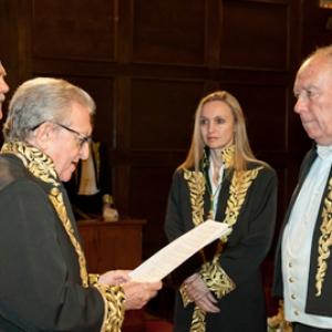 Ingreso como Académico de Número de Juan Llorens Carrió - 24/10/2013