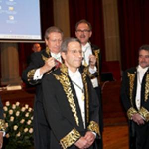 Ingreso Excmo. Sr. Dr. D. Eric Maskin, Nobel de Economía. 5/10/2009 - 05/10/2009