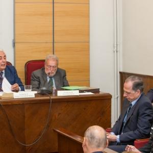 Sesión Necrológica en memoria del Académico Claudio Colomer, 18/06/2015 - 18/06/2015