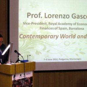 Conferencia Internacional en Podgorica (7-9 de Junio 2012) - 09/06/2012