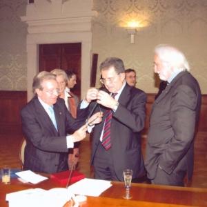 Entrega de la medalla de honor al Dr. Romano Prodi - 07/05/2007