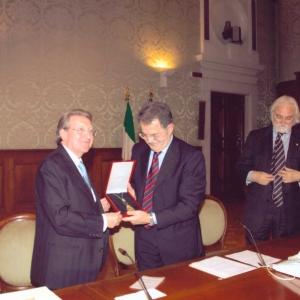 Excmo. Sr. Dr. D. Romano Prodi, ex Presidente del Consejo de Ministros de Italia - 07/05/2007