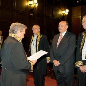 Ingreso del Dr. Juan Ramón Quintás Seoane como académico correspondiente para Galicia (21-03-2012) - 21/03/2012