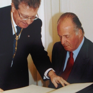 H.M. the King Juan Carlos I of Spain - 02-16-2004