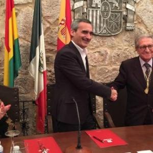 Acto Académico conjunto con la Universidad de La Rioja en San Millán de la Cogolla, 14/10/2016 - 14/10/2016