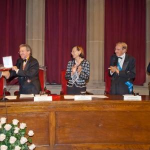 Entrega de Medalla de honor al Dr. Javier Rojo - 18/10/2007