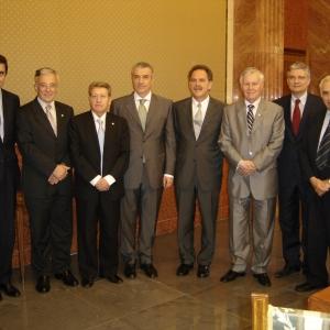 Solemne sesión académica de la RACEF junto con la Academia Rumana de Bucarest - 20/06/2005