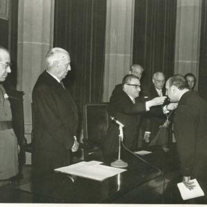 Ingreso del Excmo. Sr. Dr. D. Pedro Voltes Bou, 06-11-1966 - 06/11/1966