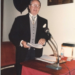 Ingreso del Excmo. Sr. Dr. D. Gaston Egmond Thorn, 1987-05-11 - 11/05/1987