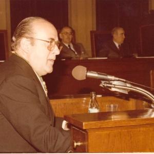 Ingreso del Excmo. Sr. D. José M. Codony Val 12-12-1978 - 12/12/1978