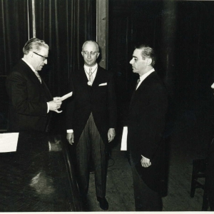 Ingreso del Excmo. Sr. Dr. D. Antonio Verdú Santurde  - 18/05/1967