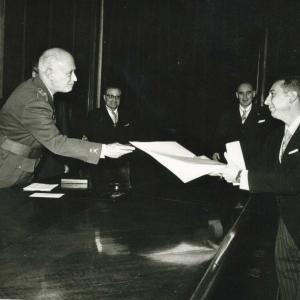 Ingreso del Ilmo. Sr. Dr. D. Carlos Cavero Beyard, 11-03-1966 - 11/03/1966
