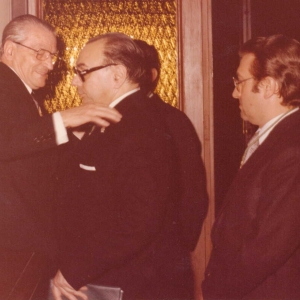 Ingreso del Ilmo. Sr. D. Miguel Allué Escudero, 31-05-1977 - 31/05/1977