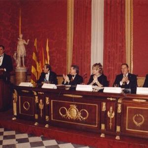 Preside el acto la Excma. Sra. Da. PILAR DEL CASTILLO, Ministerio de Educación, Cultura y Deporte, 18/12/2003    - 18/12/2003