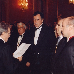 Ingreso de José María Castellano Ríos como académico correspondiente para CORUÑA, 18/12/2003 - 18/12/2003
