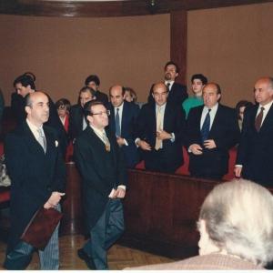 Ingreso Ilmo. Sr. Dr. D. Miguel Alfonso Martínez-Echevarria y Ortega correspondiente Navarra, 18-04-1991 - 18/04/1991
