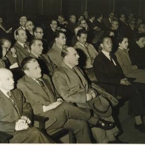 Ingreso de Luis Bañares Manso como académico de Número 25/02/1954 - 02-25-1954