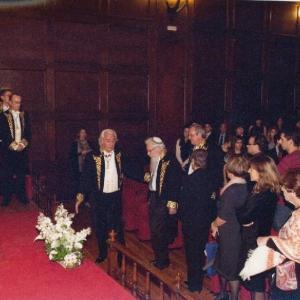 Asistentes de ingreso de Robert J. Aumann como académico correspondiente Israel 10/11/2011  - 10/11/2011