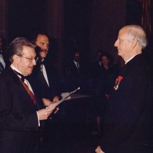 Ingreso de André Azoulay como académico correspondiente para Marruecos 10/04/2003 - 10/04/2003