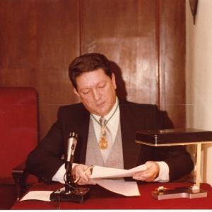 Ingreso del  Excmo. Sr. Dr. D. Alejandro Pedrós Abelló, 02-03-1981 - 02/03/1981
