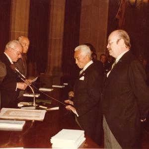 Ingreso del Excmo. Sr. Dr. D. Rafael Termes Carreró, 29-10-1984 - 29/10/1984