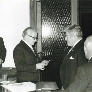 Ingreso del Excmo. Sr. D. Emilio Alfonso Hap Dubois,12-02-1976 - 12/02/1976