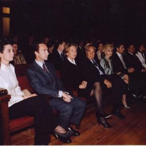 Asistentes al ingreso del Excmo. Sr. Dr. D. Jaime Lamo De Espinosa Michels De Champourcin, 31-03-2005 - 31/03/2005