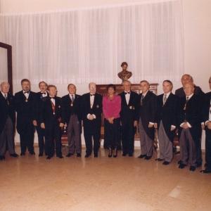 Ingreso de José Daniel Gubert  ,foto de familia 10/05/2001 - 10/05/2001