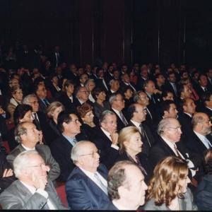 Asistentes del ingreso de Emilio Ybarra Churruca, 25/01/2001  - 25/01/2001