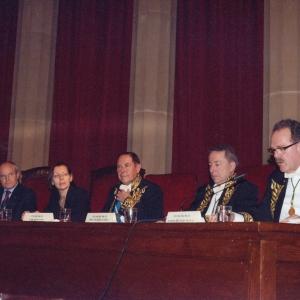 Tribuna presidencial del ingreso de  Romano Prodi 12/03/2009 - 12/03/2009