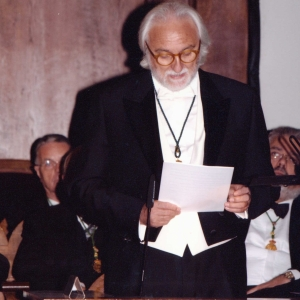 Ingreso de Alessandro Bianchi como académico correpondiente para Italia 18/10/2007 - 18/10/2007