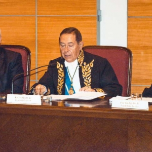 Ingreso de Momir Djurovic como académico correspondiente para Montenegro,19/04/2012  - 19/04/2012