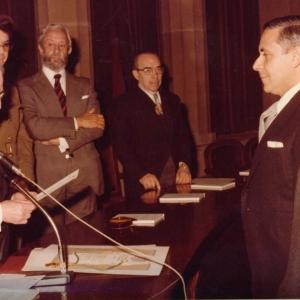 Ingreso del Excmo. Sr. Dr. D. Lorenzo Gascón,30-01-1979 - 30/01/1979