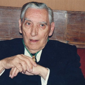 Juan José Perulles Bassas en un acto académico - 03/05/1973