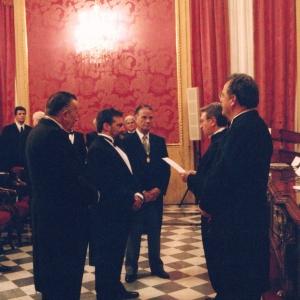 Ingreso de José Antonio Redondo López como académico correspondiente para Galicia, 20/11/2002  - 20/11/2002