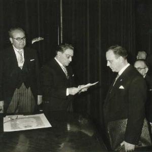 Ingreso del Excmo. Sr. Dr. D. Manuel Fraga Iribarne, 03-05-1962 - 03/05/1962