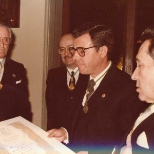 Ingreso de José Ramón Álvarez-Rendueles Medina 18/03/1986 - 18/03/1986