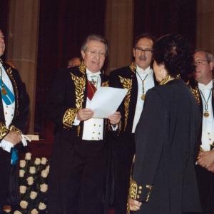 IIngreso de Janine Delruelle-Ghobert como académica correspondiente para Bélgica 30/10/2008  - 30/10/2008