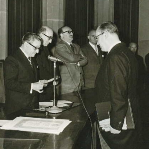 Ingreso del Excmo. Sr. Dr. D. Mario Pifarré Riera,13-12-1964 - 13/12/1964