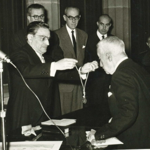 Ingreso de Félix Escalas Chamení como académico de número, 13/11/1960 - 13/11/1960