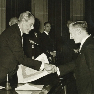Ingreso de Abraham Goudeket como académico correspondiente para Holanda, 26/05/1959 - 26/05/1959