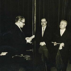 Ingreso del Ilmo. Sr. Dr. D. Lucas Beltrán Flórez 18-02-1966 - 18/02/1966