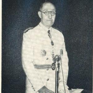 José Ros Jimeno en el acto de su reepción, 27/04/1961  - 27/04/1961