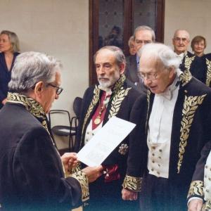 Ingreso de Reinhard Justus Reginald Selten como académico correspondiente para Alemania, 25/03/2014  - 25/03/2014