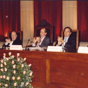 Mesa presidencial del Ingreso de Aldo Olcese Santonja 15/11/2001  - 15/11/2001