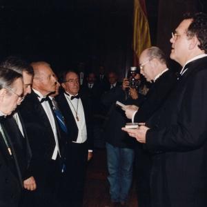 Ingreso de Emilio Ybarra Churruca, 25/01/2001  - 25/01/2001