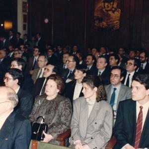 Asistentes del Ingreso de Manuel Vela Pastor 16/03/1989  - 16/03/1989