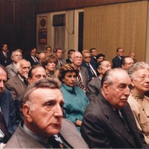 Asistentes al ingreso del Excmo. Sr. Dr. D. Gaston Egmond Thorn 1987-05-11 - 11/05/1987